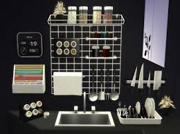 Altea Kitchen Clutter Part 2 By Mary Jimenez At PqSims4 Via Sims 4 Updates