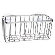Simplehuman Sink Caddy Suction Cups by Kitchen Details Chrome Wire Sink Caddy Walmart Com
