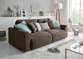 details zu sofa zweisitzer lazy schlafcouch schlafsofa ausziehbar braun 250cm