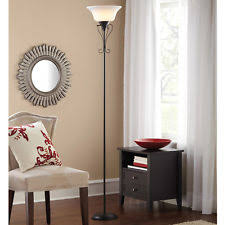 Mainstays Floor Lamp With Reading Light Assembly by Torchiere Floor Lamp Ebay
