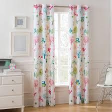 mainstays grommet room darkening woodland girl s bedroom curtain