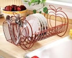 Apple Decor Expandable Dish Rack So Cute