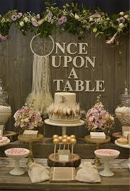 Rustic Bohemian Chic Dessert Table Decor Ideas