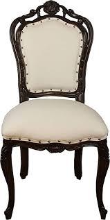 casa padrino barock esszimmer stuhl in leicht creme braun