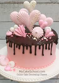 Cake Decorating Books Online by How To Make Meringues And A Chocolate Drip Cake Video Chocolate
