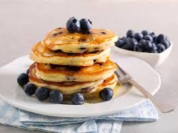 blaubeer pancakes amerikanisch