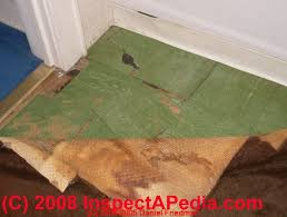Can You Lay Tile Over Linoleum Backing by How To Identify Asbestos Floor Tiles Or Asbestos Containing Sheet
