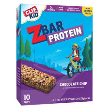 Clif Kid Z Bar Protein Chocolate Chip Bars