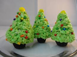 Rice Krispies Cereal Treat Christmas Trees With Yoyomax12