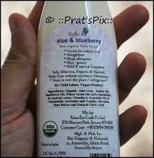 Organic Baby Lotion By Rustic Art