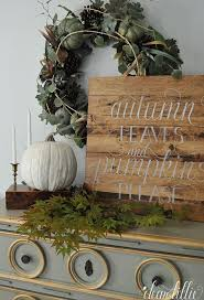 Dear Lillie Autumn Leaves And Pumpkins Please Fall Decor SignsDyi