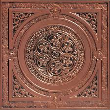 Antique Ceiling Tiles 24x24 by Steampunk Faux Tin Ceiling Tile 24