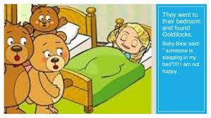 13 They Went To Their Bedroom And Found Goldilocks Baby Bear