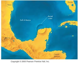 Of Reasons Why Its Harder To Find Impact Craters On Earth And Mentions The Yucatan Peninsula Which I Thought Deserved Further Elaboration