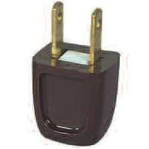 Pass and Seymour Installation Plug - Brown, 6amp