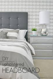 Cheap Upholstered Headboard Diy by Best 25 Diy Upholstered Headboard Ideas On Pinterest Diy Tufted