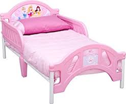 Disney Princess Pretty Pink Toddler Bed Amazon Toys & Games