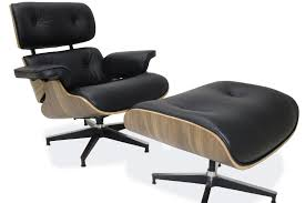 Eames Lounge Chair & Ottoman Reproduction 100% Genuine Leather Black Walnut Vitra Lounge Chair Ottoman Santos Palisander Nero Alinium Polished Sides Black Vintage Black Leather Ekornes Strless Chairs Ottomans A Pair Eames Version Charles And Ray Designer Lounge Chair With Ottoman In Details About Style 100 Pu Rosewood Replica Italian Walnut Frame Bully By Zuo Modern And In Oak Plywood