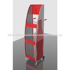 China Pop Retail Portable PVC Foam Board Floor Display Stand