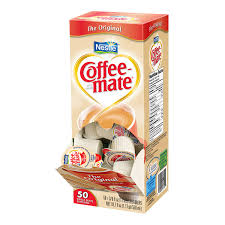 Coffee Mate Liquid Creamer Box Of 50 Regular