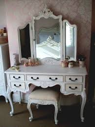 Makeup Vanity Table With Drawers How To Build A Dressing And Mirror White