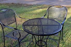 Restore Metal Outdoor Furniture To