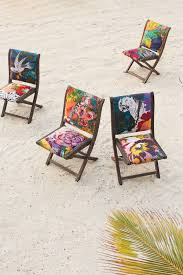 Kohls Metal Folding Chairs by So Gorgeous Overdyed Terai Folding Chair Anthropologie Com