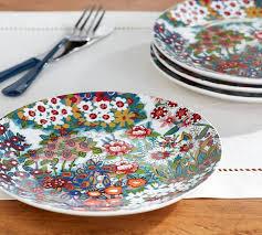 Spring Blossom Salad Plate Set of 4