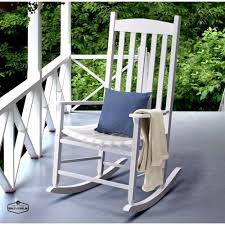 100 Mainstay Wicker Outdoor Chairs Rocking Chair White Wood Porch Deck Rocker Seat