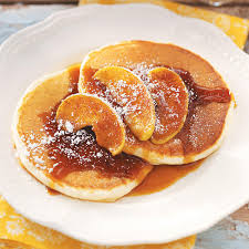 Bisquick Pumpkin Puff Pancakes by Ricotta Pancakes With Cinnamon Apples Recipe Taste Of Home