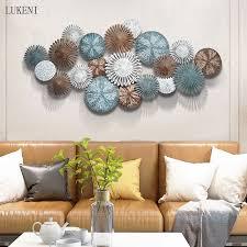 moderne wohnzimmer wand hängende dekoration licht luxus