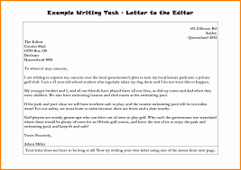 10 examples of letters to the editor of a newspaper