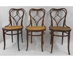 Three Thonet Chairs Signed