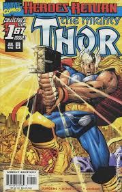 Thor 1998 2004 2nd Series Comic Books