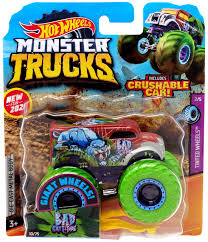 100 Hot Wheels Monster Truck Toys S Bad Cattitude DieCast Car
