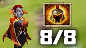 Pumpkin Duke Castle Clash 99 by Epic Gameplay On 8 8 Wargod Vlad Dracula Castle Clash Youtube