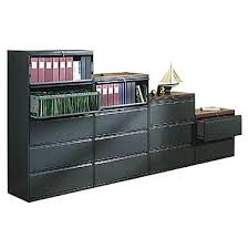 hon brigade 800 series 42 wide lateral file cabinets staples