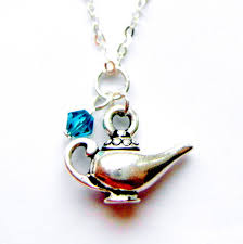 Aladdin Oil Lamps Canada by Aladdin Lamp Necklace Princess Jewelry Ballet Gift