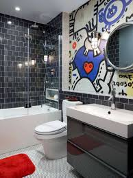 Boy Teenage Bathroom Ideas Man Cave Red White Vanity And Bowl Sink ... 50 Bathroom Ideas For Guys Wwwmichelenailscom Rustic Decor Ideas Rustic Bathroom Tub Man Cave Weapon View Turquoise Floor Tiles Style Home Design Simple To Mens For The Sink Design Decorating Designs 5 Best Mans 1 Throne Bathrooms With Grey Walls And Black Cabinets Grey Contemporary Man Artemis Office Astounding Modern Bathrooms Image Concept Bedroom 23 Decorating Pictures Of Decor Designs 2018 Trends Emily Henderson 37