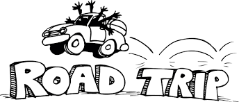 Car Travel Clipart Black And White