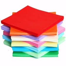 Hot Sale 100 520 PCS Sheets Origami Paper Double Sided Coloured Craft Square Assorted DIY Folded