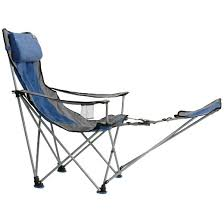 travel chair with footrest blue target
