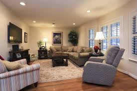 comfortable best recessed lighting for living room sofa coffee