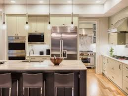 Small White Kitchen Design Ideas by Kitchen Room Small White Hang Lamp On The White Ceiling Inside