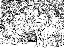 Cute Christmas Holiday Coloring Book