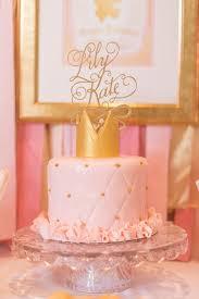 pink gold princess themed birthday party princess themed