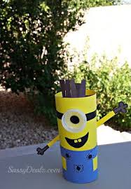 Minion Toilet Paper Roll Craft For Kids Despicable Me