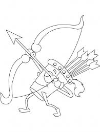 8 Best Archery Coloring Pages Images On Pinterest