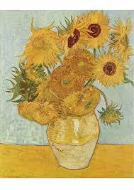 Image Vincent Van Gogh Tournesols Dessin 17055