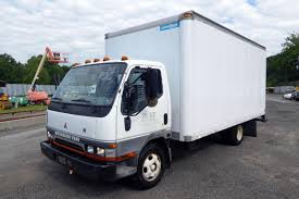 2002 Mitsubishi Fuso FE Single Axle Box Truck For Sale By Arthur ...